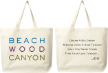 Beachwood Canyon Organic Cotton Tote Bag